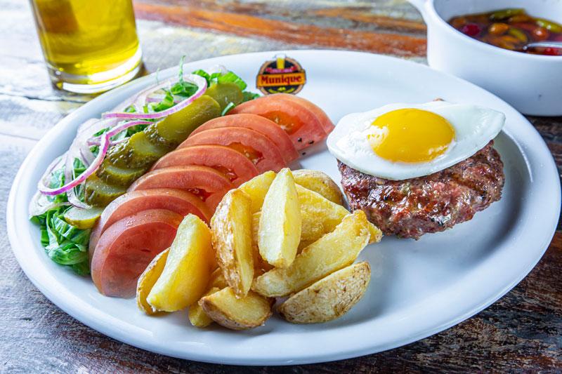 Hambúrger no Prato Munique