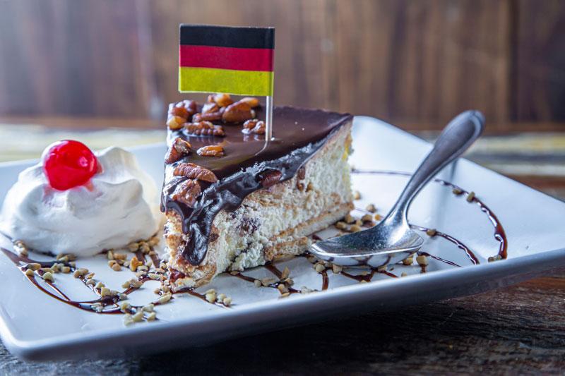 Torta Alemã Crocante Biergarten Munique
